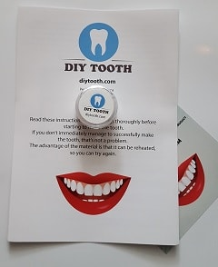 DIY tooth contents