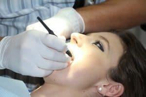 temporary false tooth